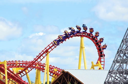 Michigan's Adventure Thrills and Rides